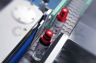 Vertical Round Bottle Labeling System