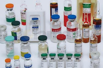 A104 Vertical Labeling System with Rotary Table for Vials