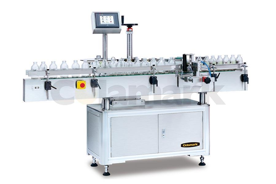 Orientated Wrap-around Labeling System with Pneumatic Arm