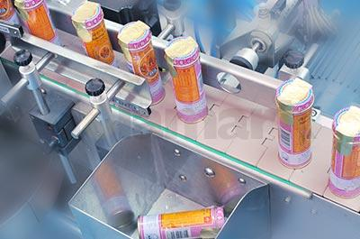 Orientated Wrap-around Labeling System with Turn-table