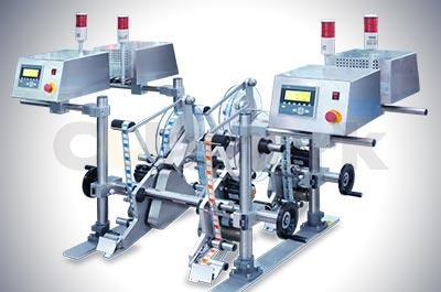 Stand-alone labeling machine