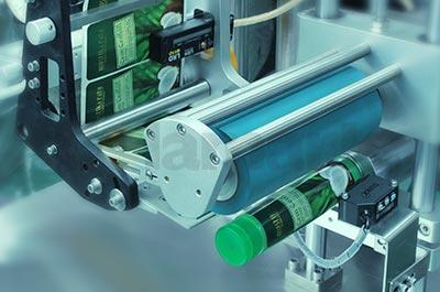 Semi-auto Soft-tube Labeling Machine