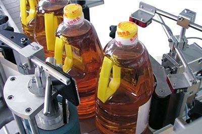 A720 Cooking Oil Bottle Labeling System