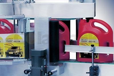 A920 Front and Back Labeling System
